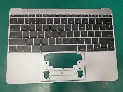 """Topcase s klávesnicí MacBook 12"""" A1534 (2016,2017) Space Gray - použitý"""