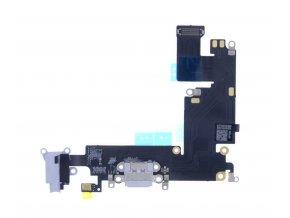 Nabíjecí kabel a 3,5 mmm jack IP 6 plus white