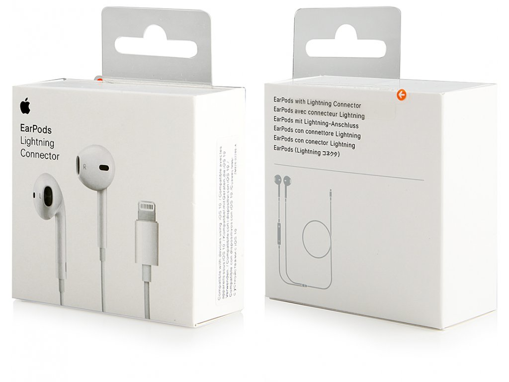 3910 sluchatka apple earpods lightning mmtn2zm a
