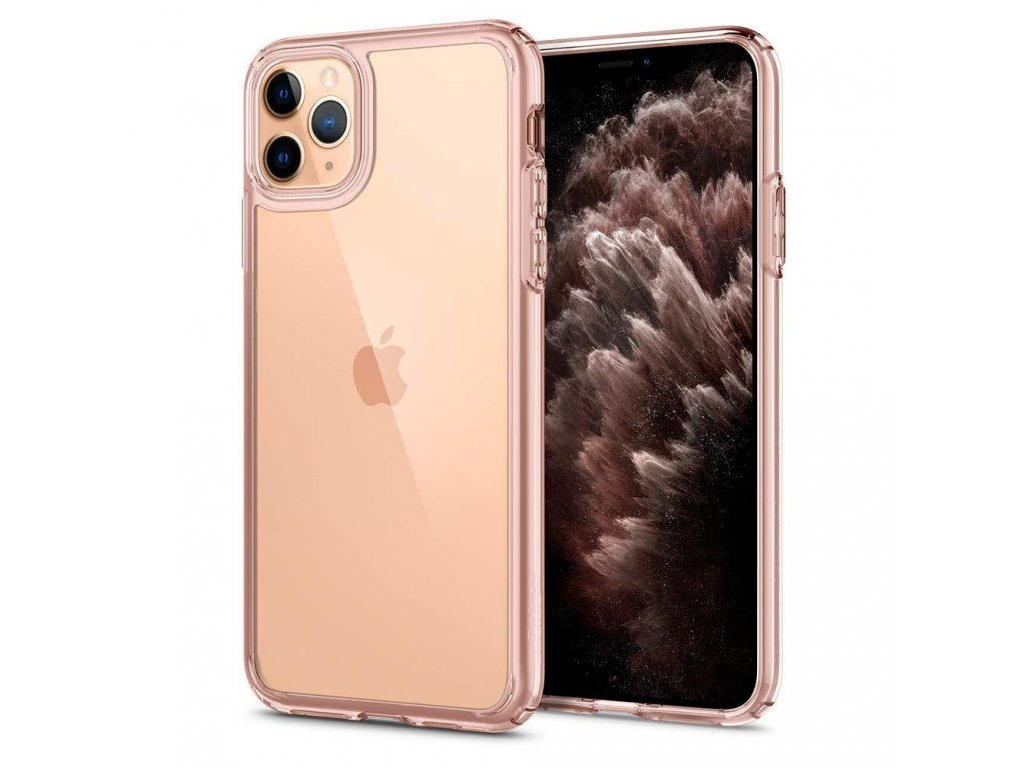 eng pl Spigen Ultra Hybrid Iphone 11 Pro Rose Crystal 56517 1