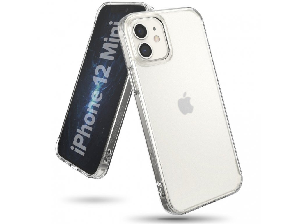 eng pl Ringke Fusion Matte PC Case with TPU Bumper for iPhone 12 mini transparent FMAP0009 63893 2