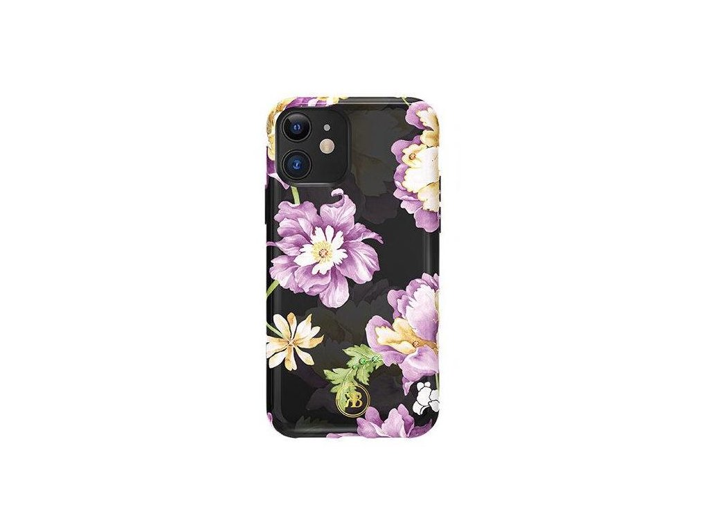 eng pl Kingxbar Forest glowing in the dark case decorated with original Swarovski crystals iPhone 11 purple 62142 1