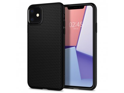 eng pl Spigen Liquid Air Iphone 11 Matte Black 53682 7