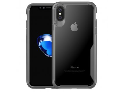eng pl iPaky Survival Case Gel Anti Fall Cover for iPhone X grey 26622 1