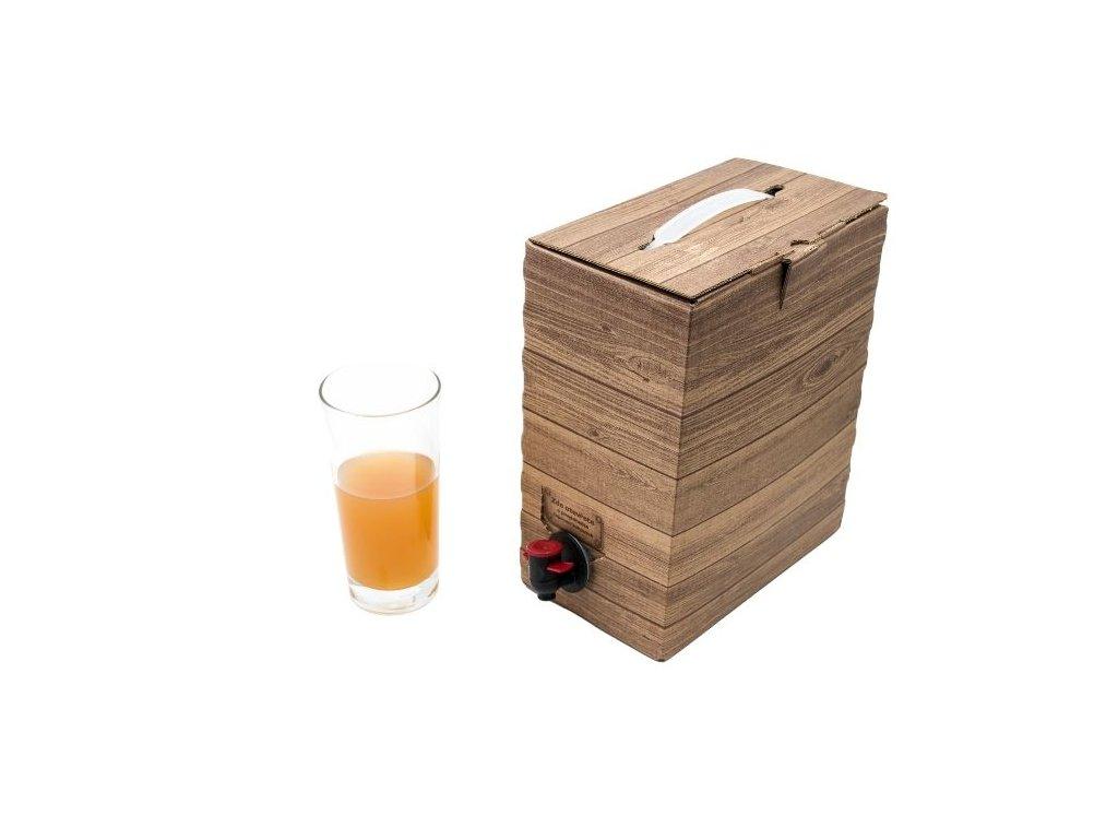 Jablečný mošt - pasterovaný 5L BagInBox