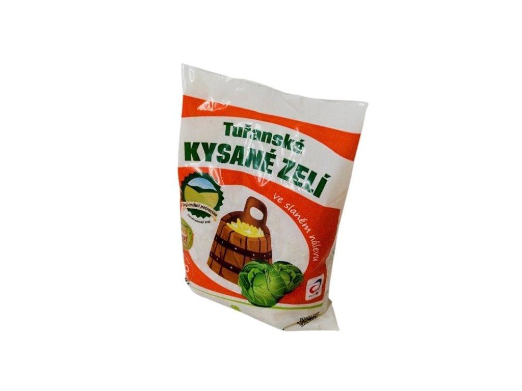 Tuřanské kysané zelí 500g
