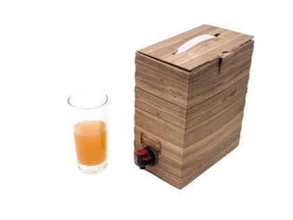Mošt pasterovaný - balení BagInBox