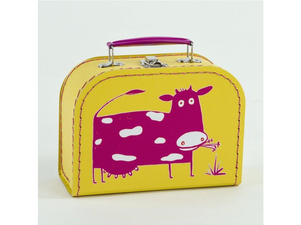 Dětský kufřík_it´s a cow skating