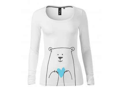 Dámské triko_medvědí máma
