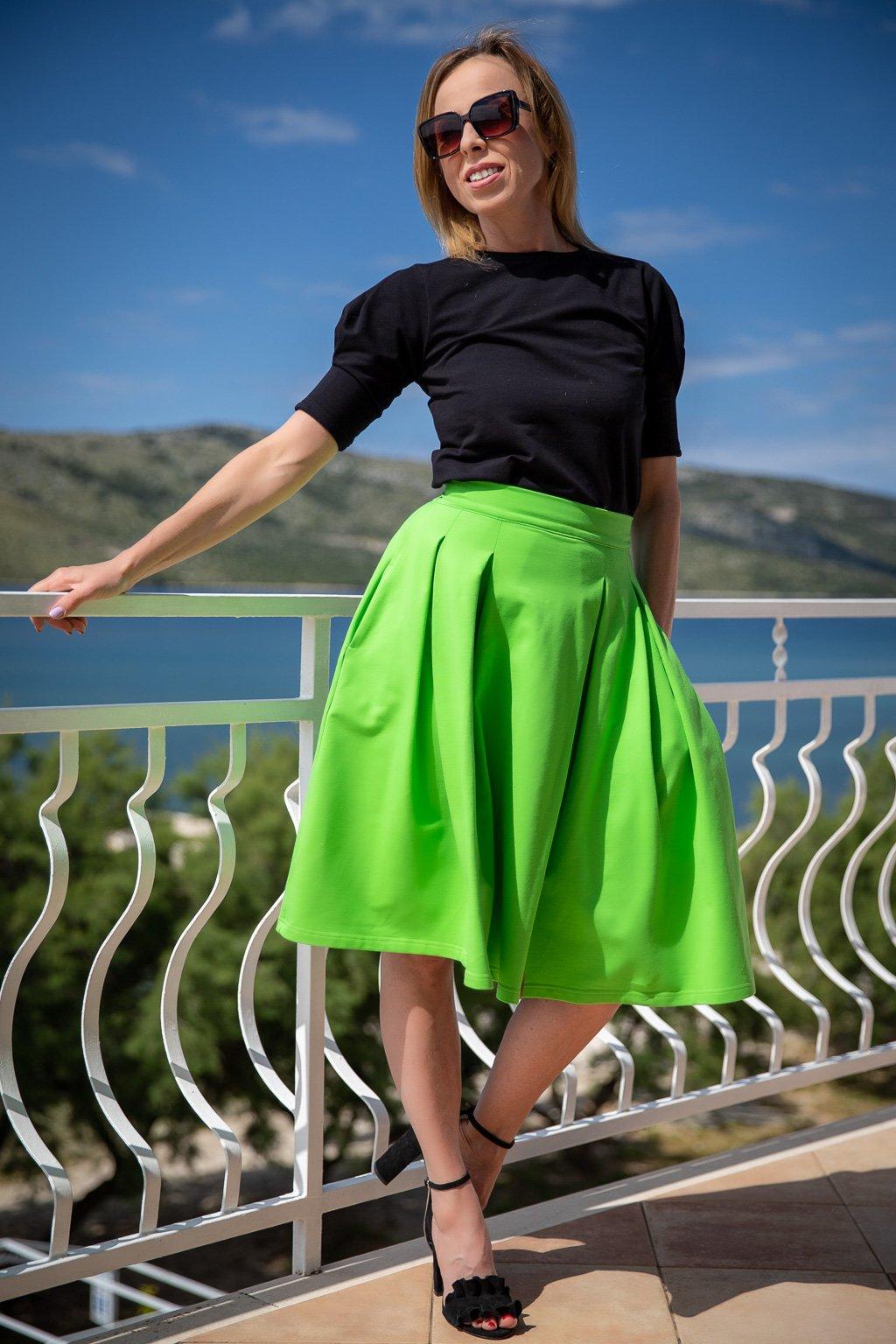 sukne jadberg betty zelena 1 8