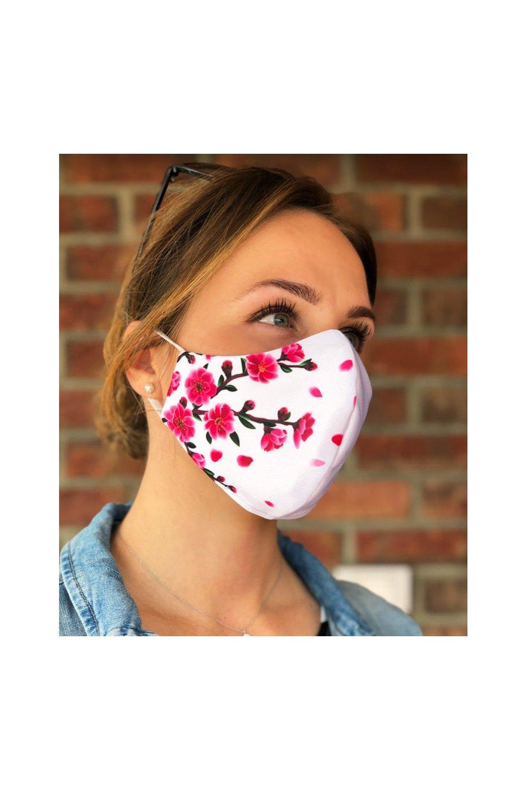 rouska jadberg maska lux sakura wht 1