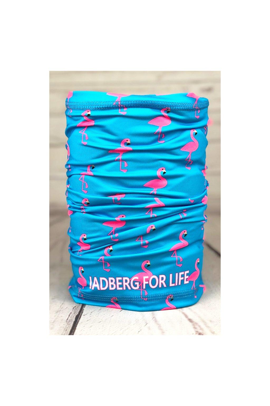 jadberg nakrcnik flamingo neck warmer 1a