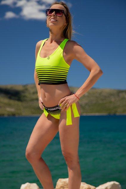 damske plavky neon jadberg 1 2
