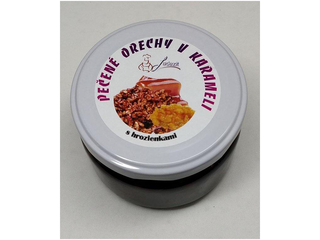 Pečené orechy v karameli