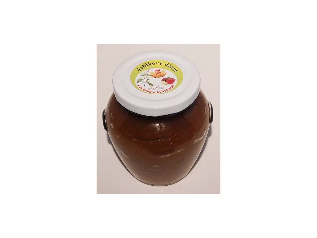 Jablkový džem s medom a bylinkami