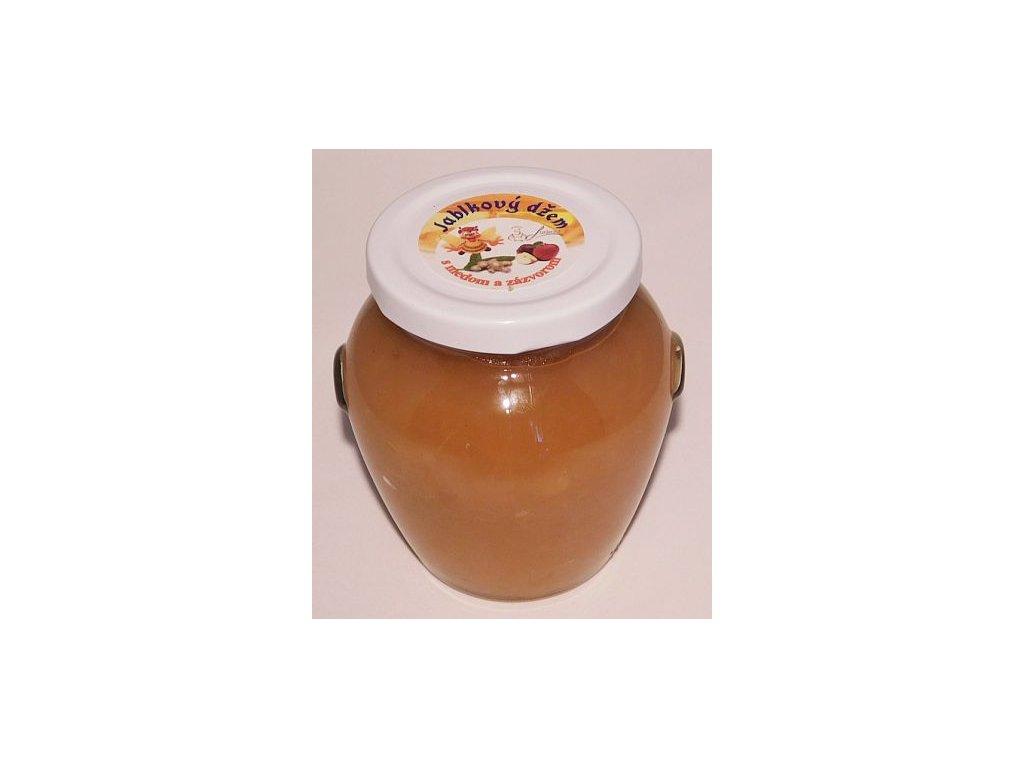 Jablkový džem s medom a zázvorom