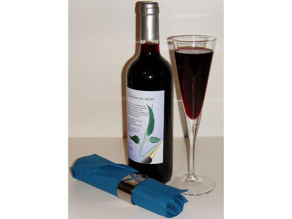Šalvia vo víne