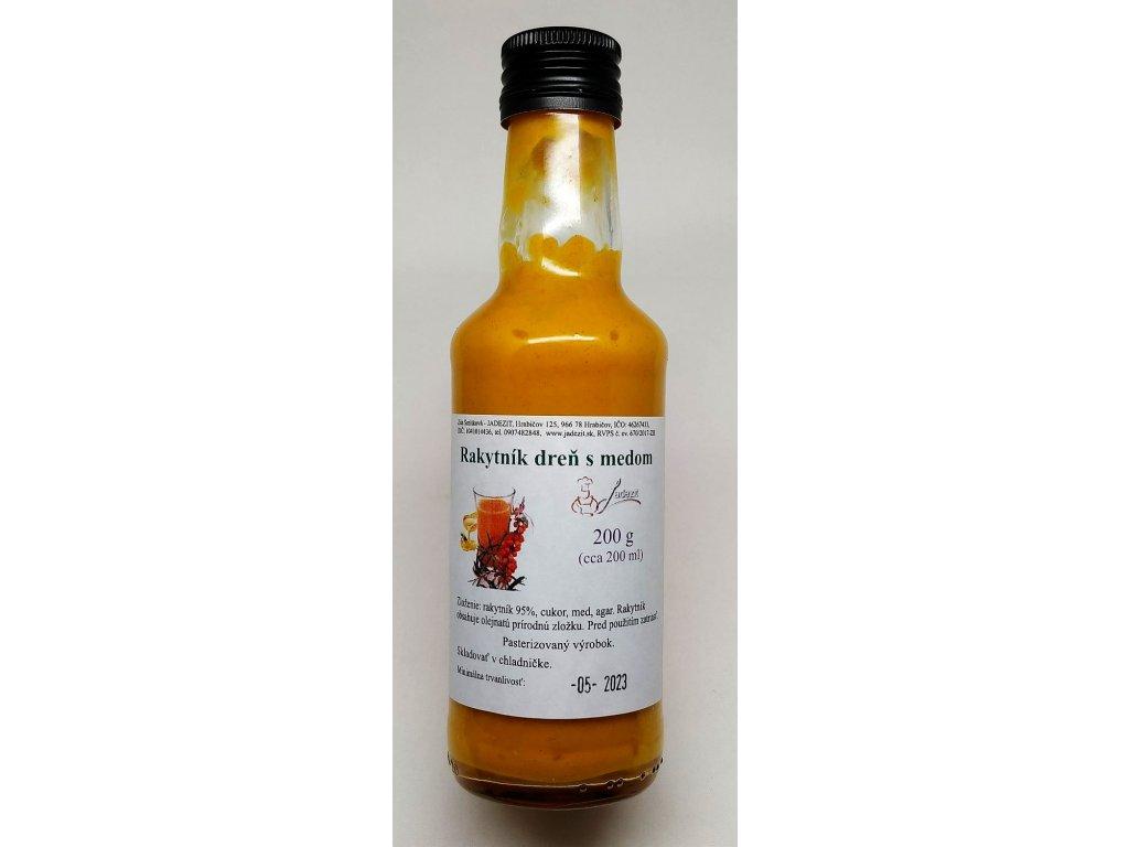 rakytník dreň s medom