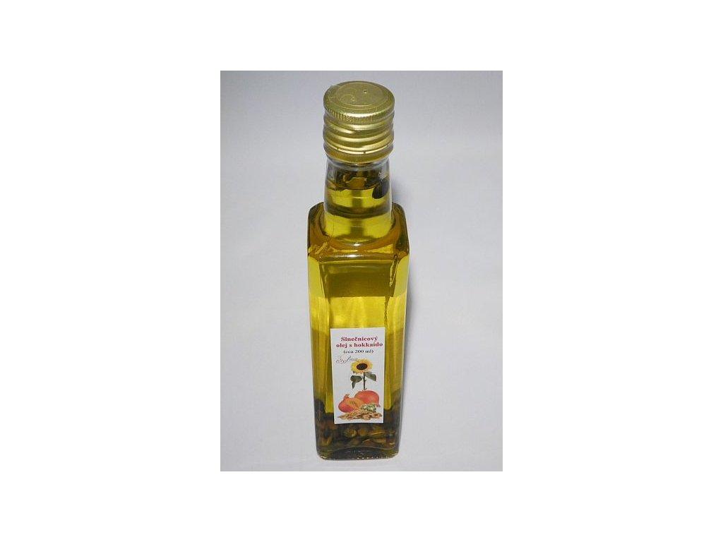 Slnečnicový olej s hokaido