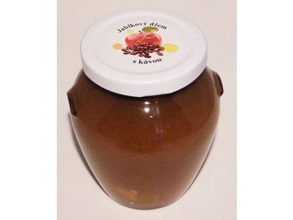 Jablkový džem s kávou