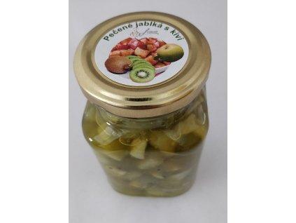pečene jablka s kiwi