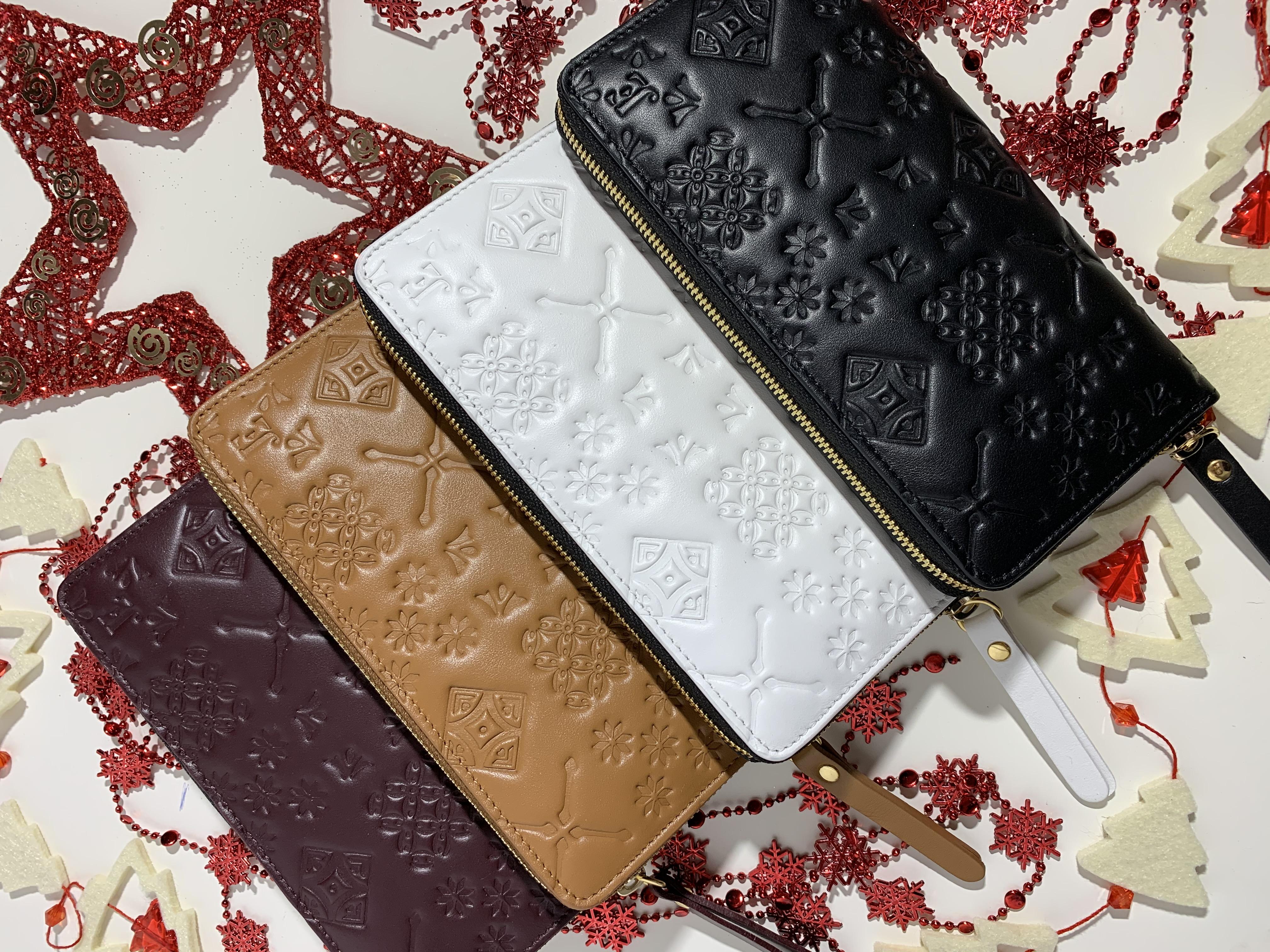 Náš vánoční tip: kožená peněženka