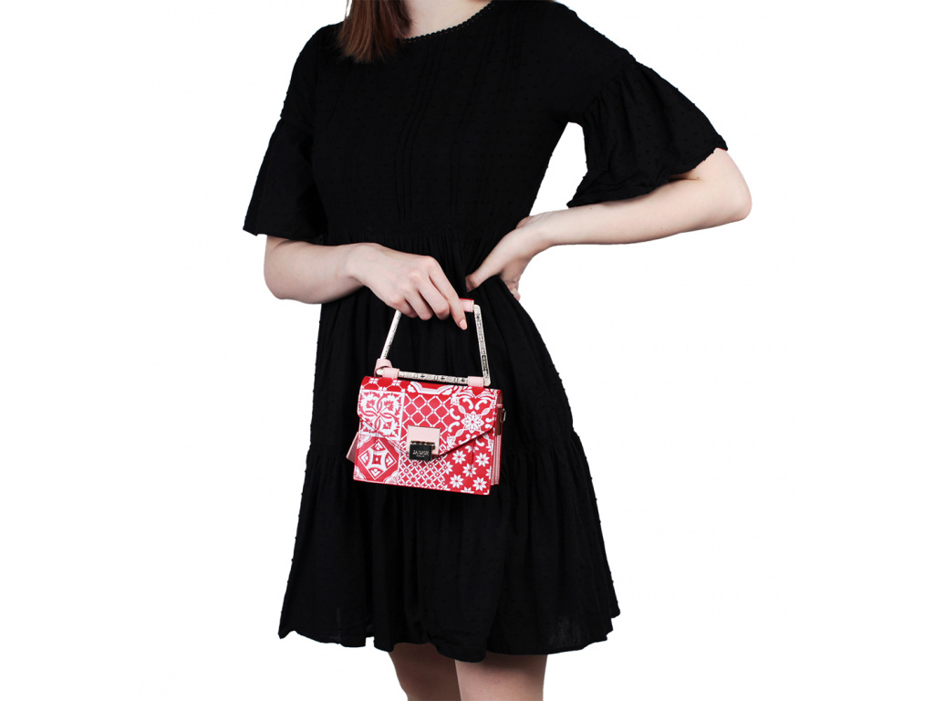kozena-kabelka-jadise--lilly-majolika-s-hranatou-rukojeti-cervena-ruzova