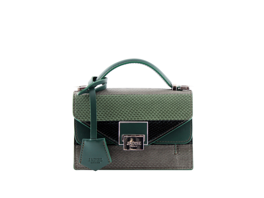 luxusni-kabelka-jadise--lily-snake-zelena