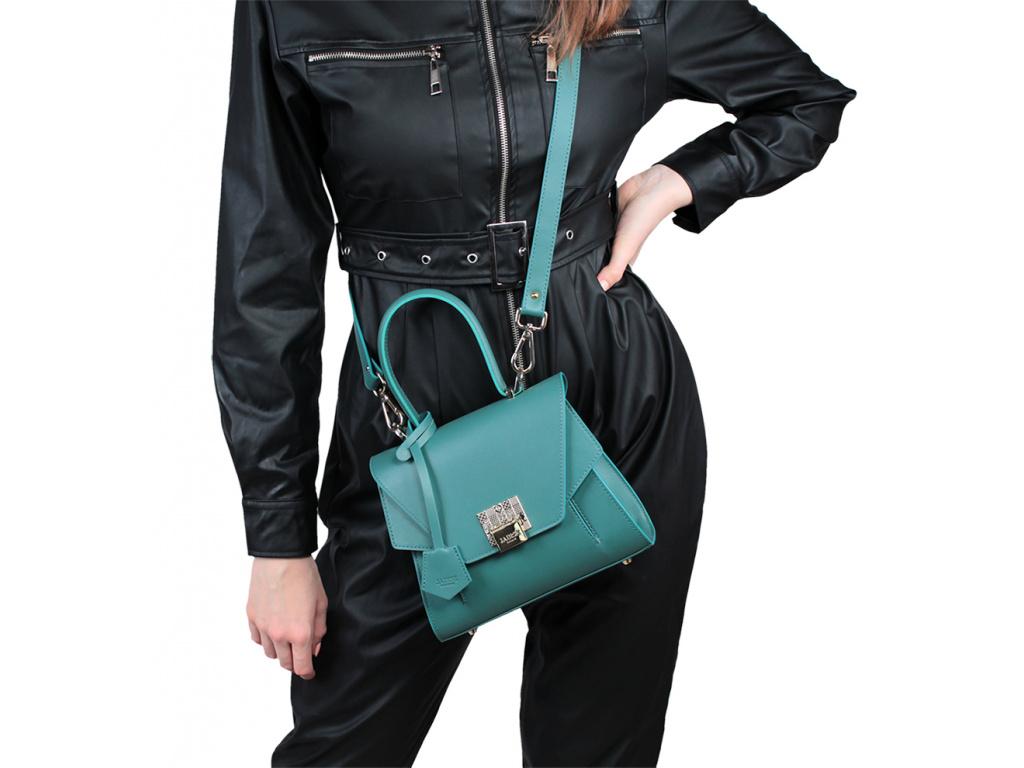 Luxusní kabelka JADISE, Sabrina malá - Cobalt