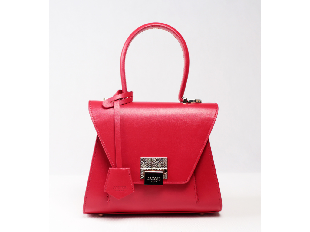 Luxusní kabelka JADISE, Sabrina malá červená