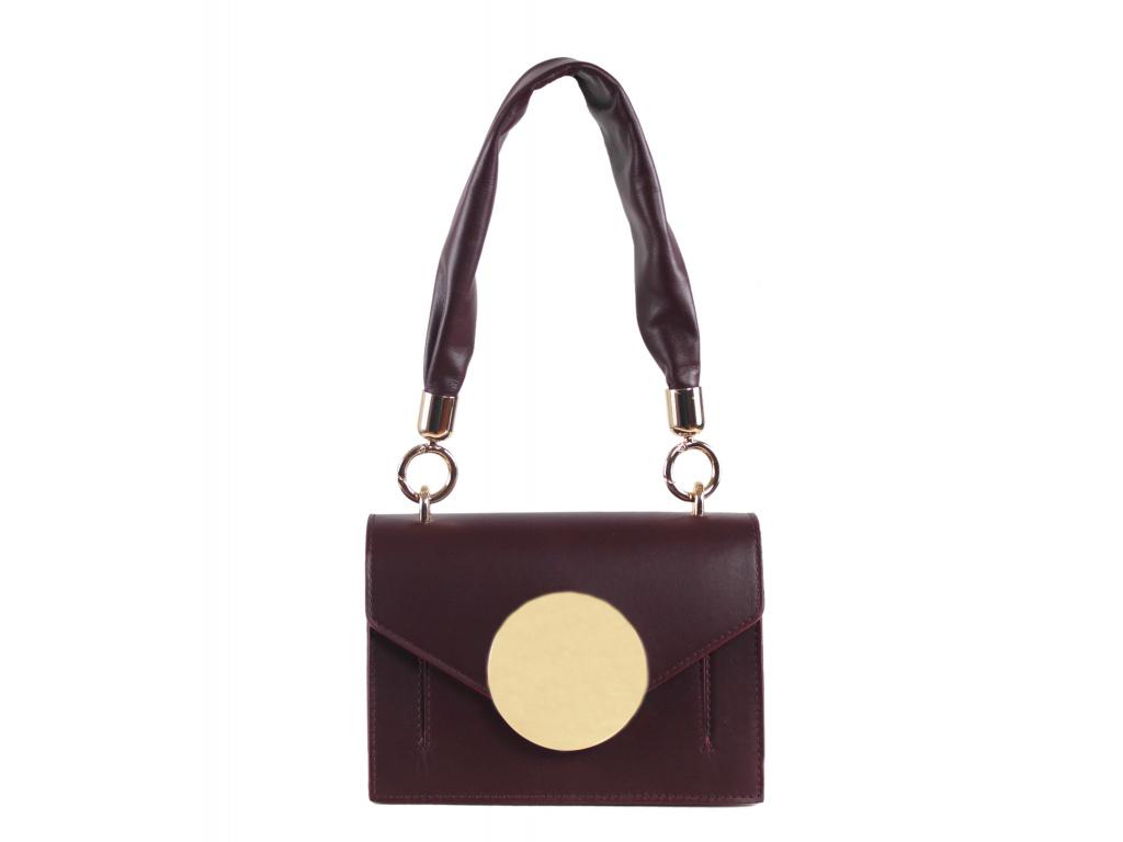 Luxusní kabelka JADISE Lily - vínová