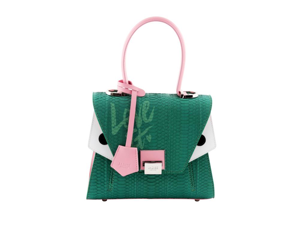 luxusni-kabelka-jadise--sabrina-mala-love-it--zelena-ruzova