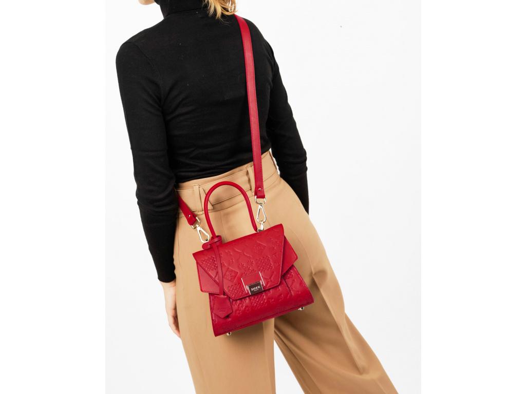 kozena-kabelka-jadise--sabrina-mala-cervena-majolika