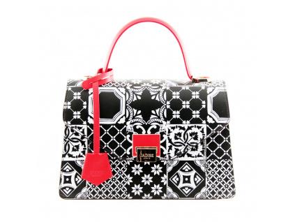 luxusni-kabelka-jadise-kate-cuiri-cerna-cervena