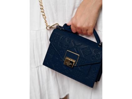 damska-kozena-kabelka-jadise-lily-modra-majolika