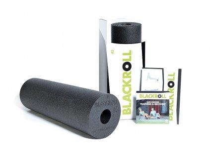 blackroll standard 45 foam roller black 57139