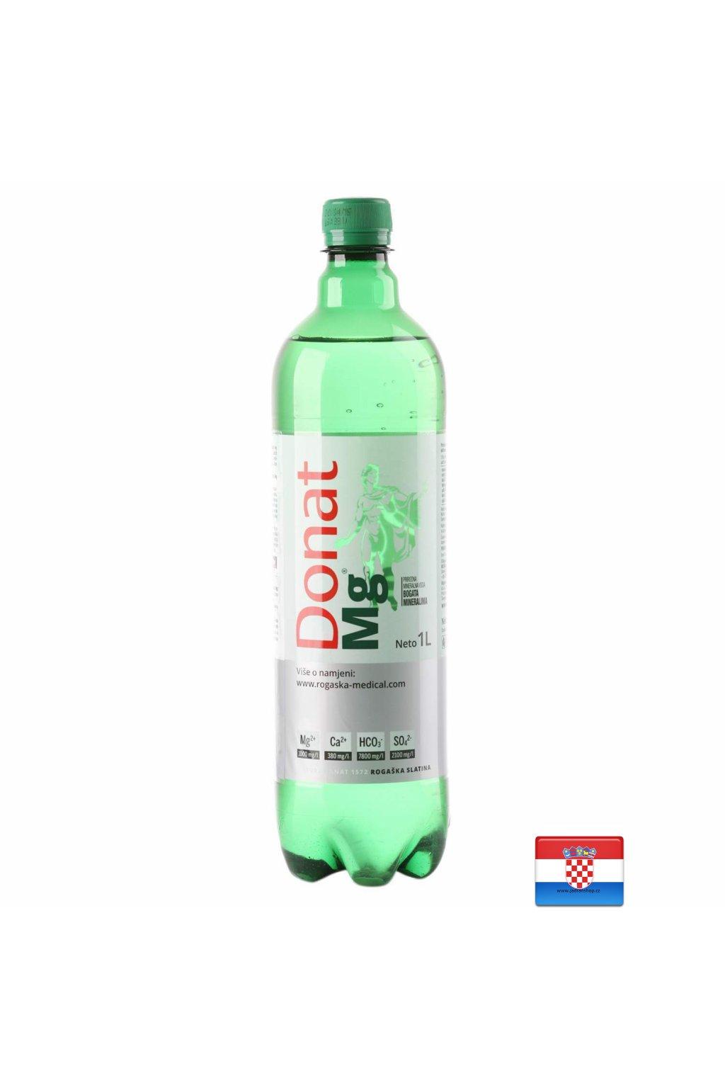 Donat Mg Woda mineralna z wysoką zawartością magnezu i wapnia 1L  Dona Mg