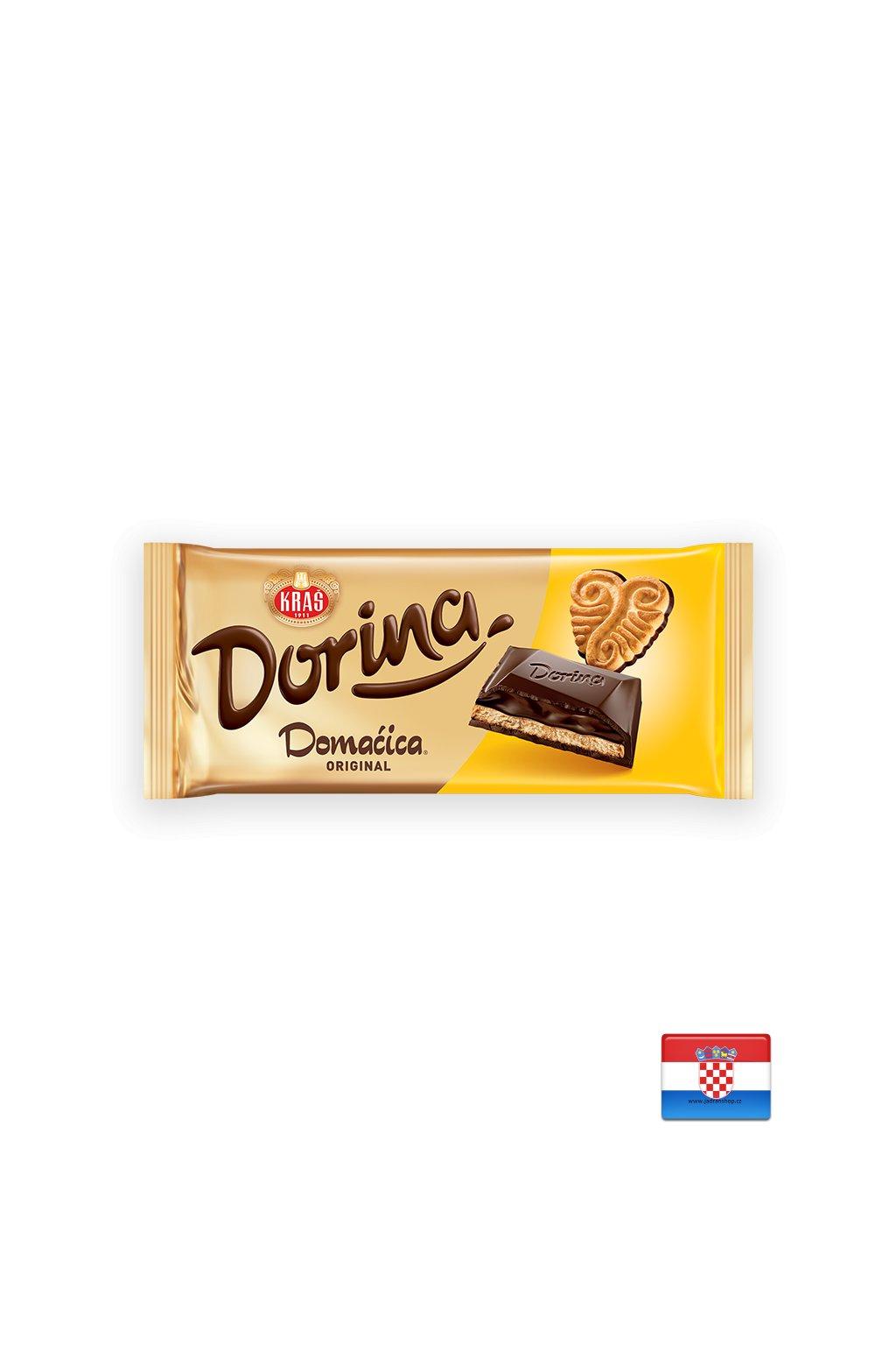 Czekolada Dorina z ciasteczkami Domačica 100g