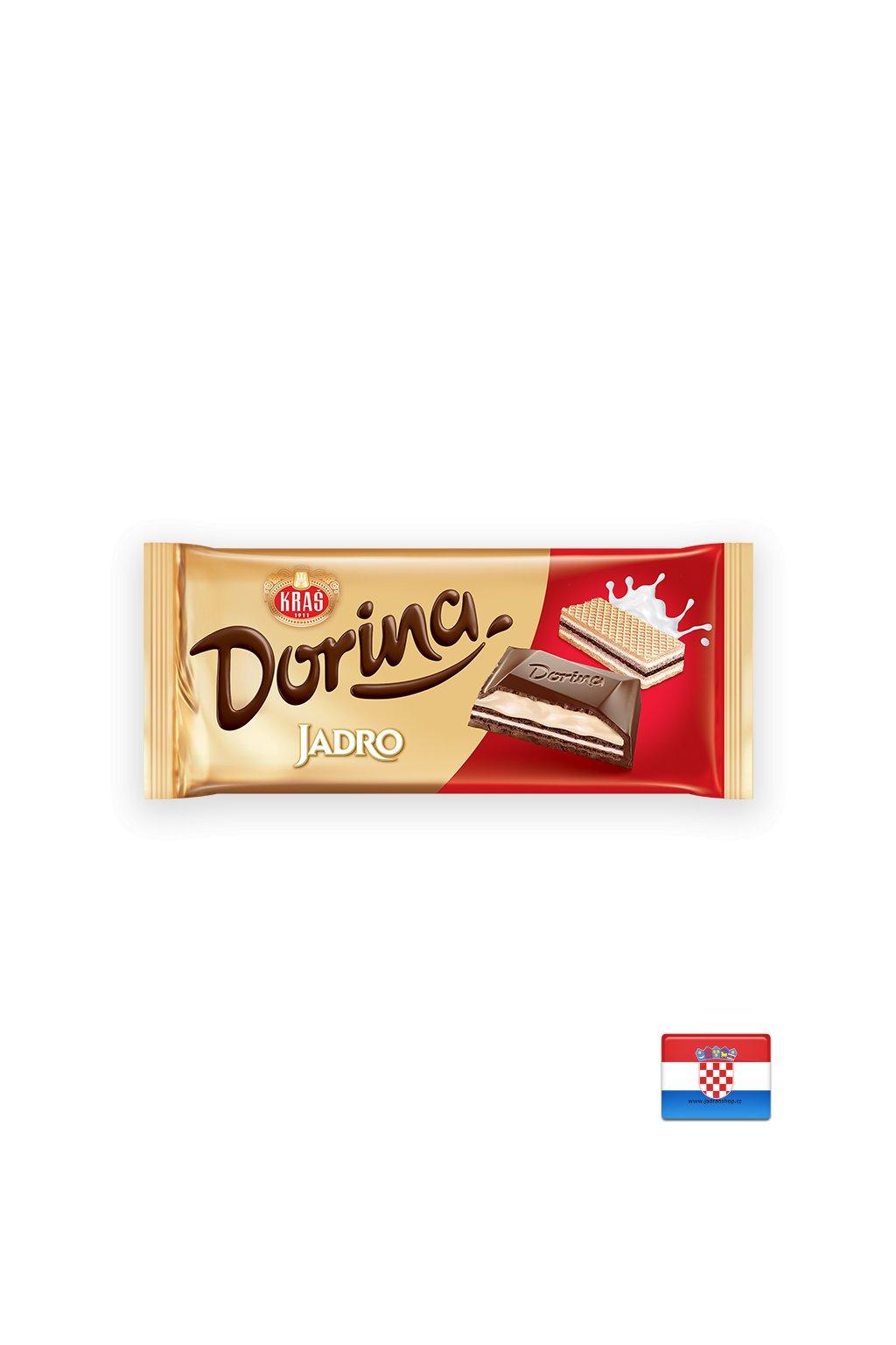 Czekolada Dorina z ciasteczkami Jadro 100g