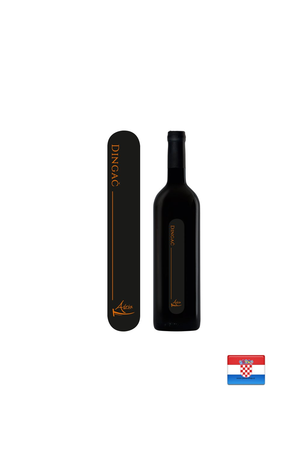Wino czerwone wytrawne Dingač 0,75l  Dingač - Vina Palihnić Pelješac
