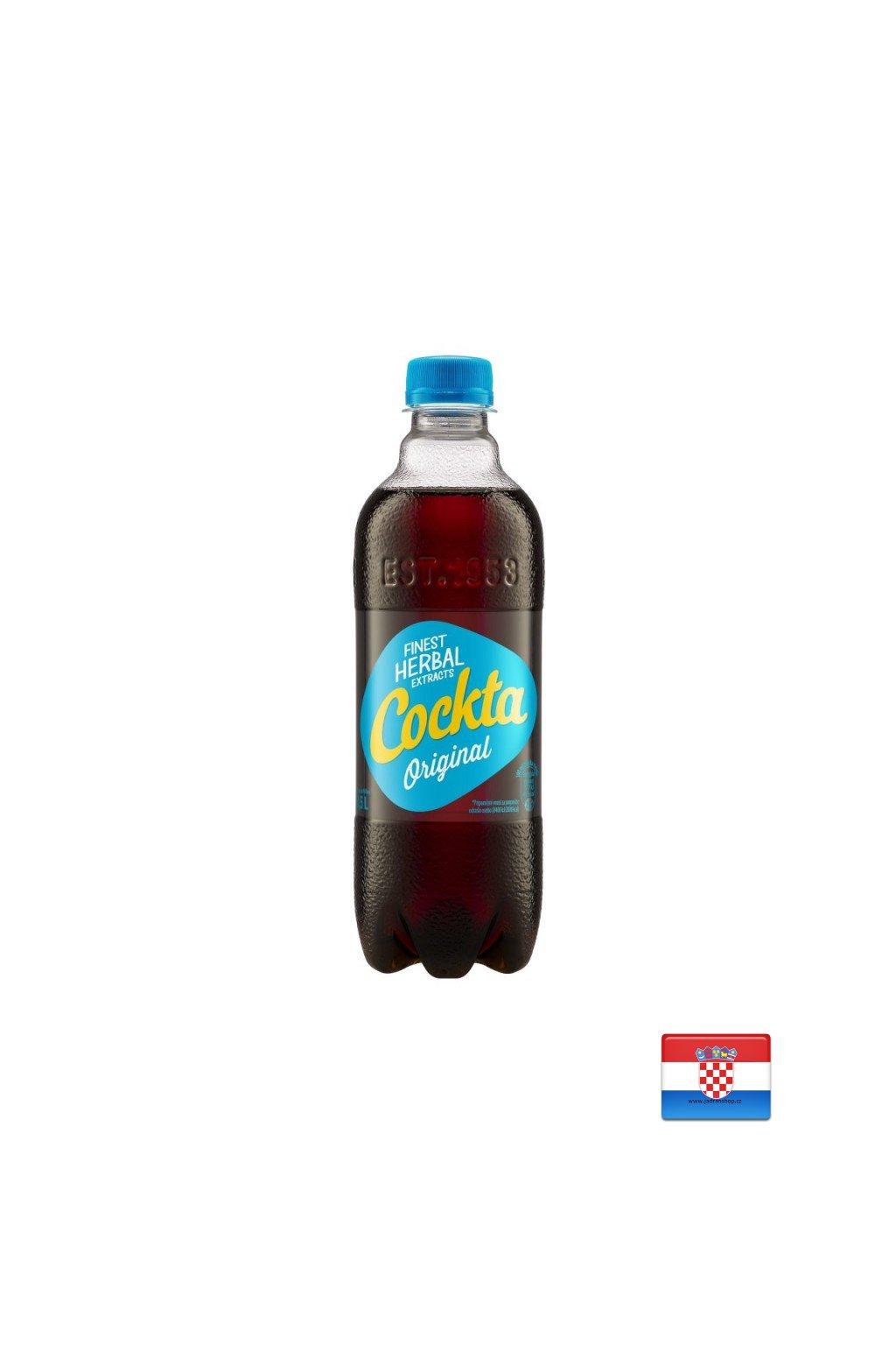 Cockta 0,5L bez kofeiny  Cockta