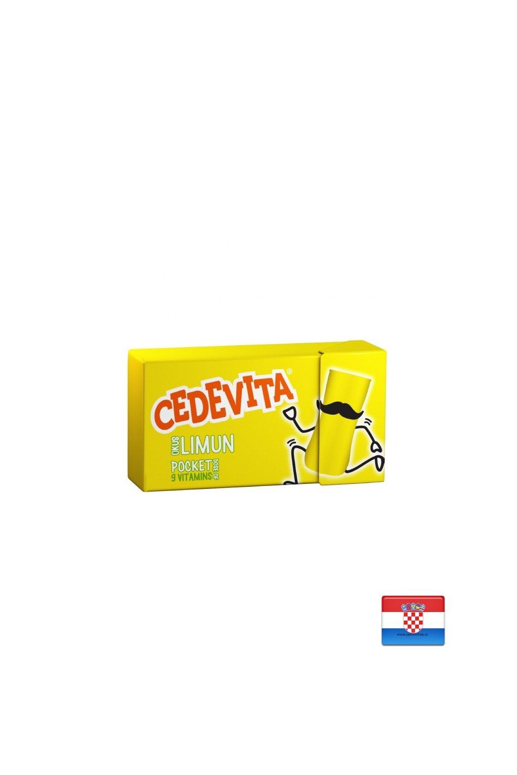 Cytrynowe cukierki witaminowe 19,5g