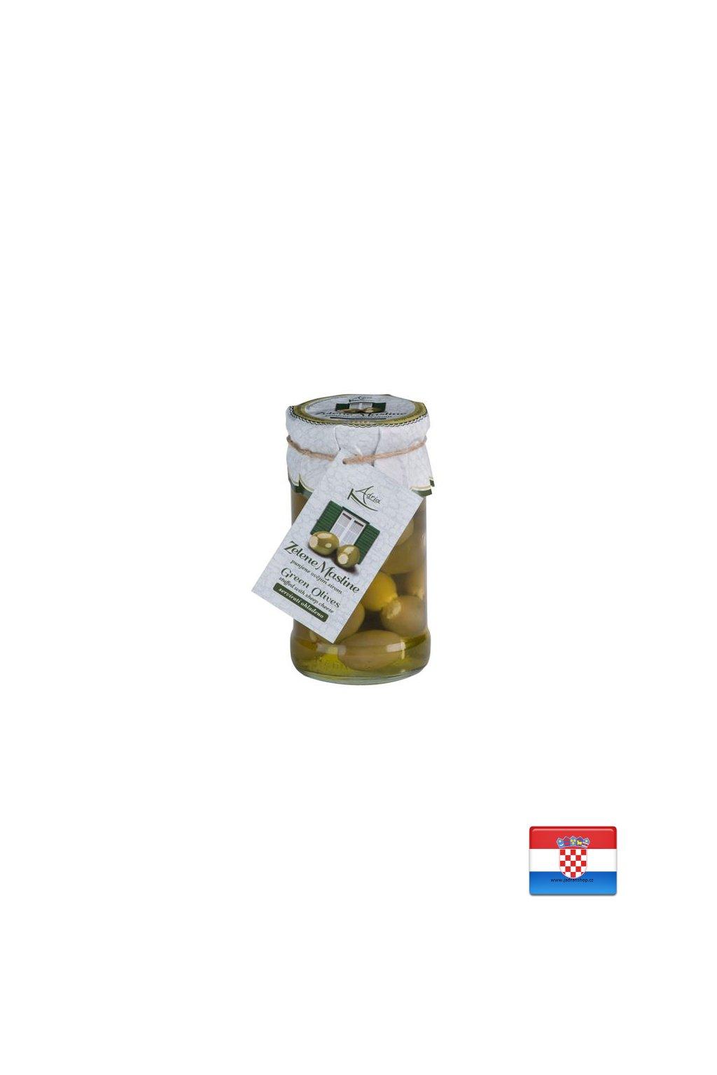 Oliwki nadziewane serem owczym 280g