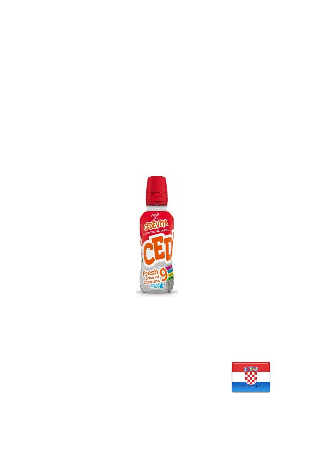 Cedevita czerwony pomarańcz 0,345ml (Fresh)