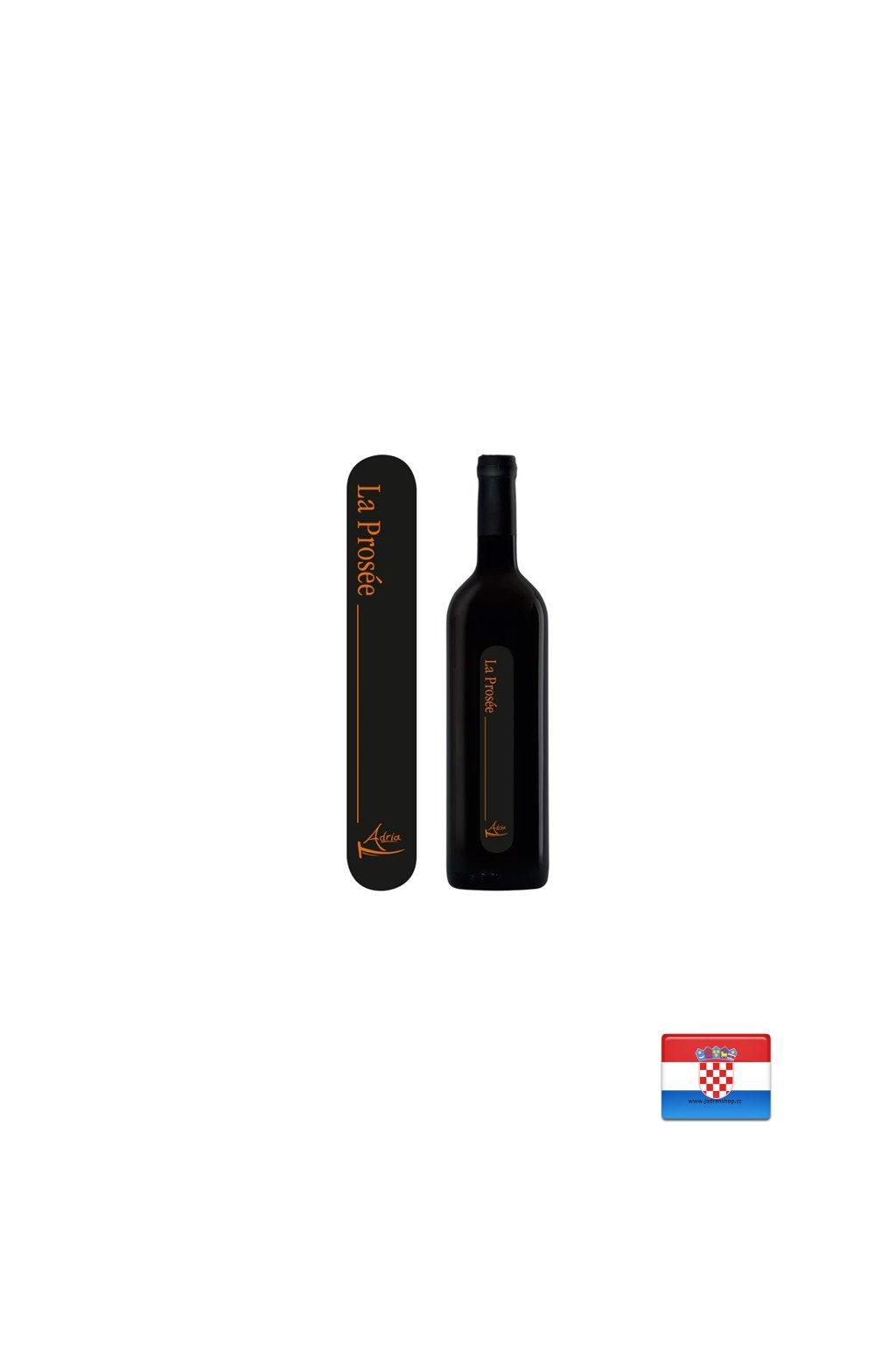 Prosek czerwone wino deserowe 0,75l  Prosek wino- Vino Palihnić Pelješac
