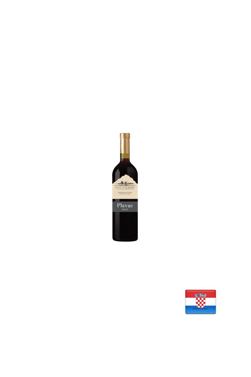 Wino Plavac Mali 0,75l  Wino Plavac Mali