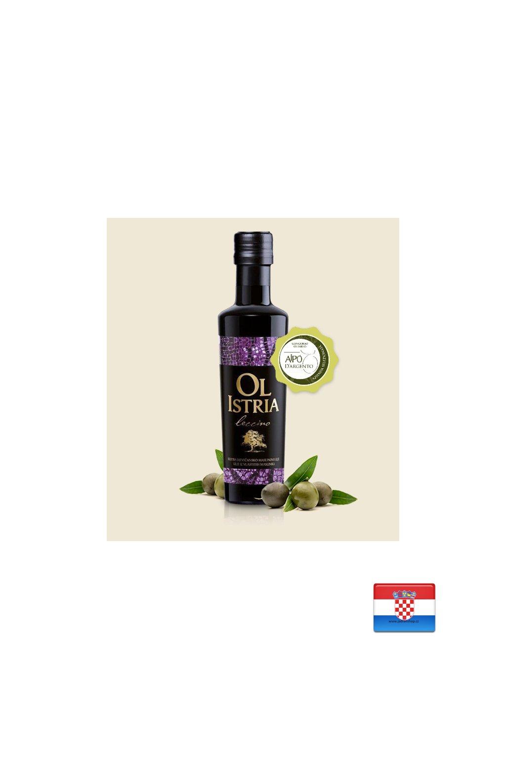 Oliwa z oliwek z pierwszego Leccino 0,25L  Ol Istra
