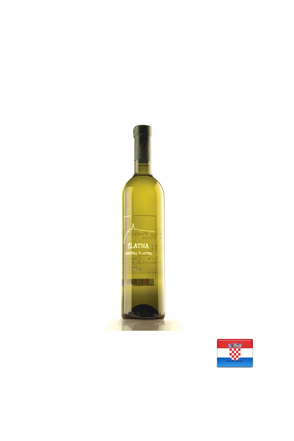 Zlatna Vrbnicka Zlahtina 0,75l