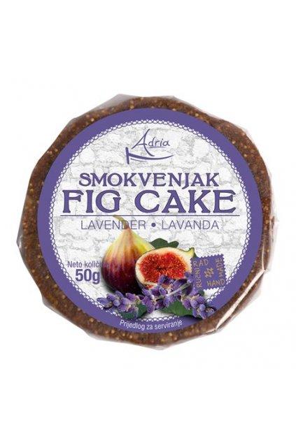 Ciasto figowe z lawendą 50g (hand made)
