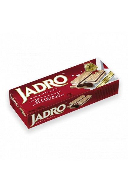 Ciastka z mlekiem i nadzieniem kakaowym Jadro 430g